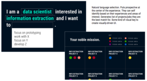 Image of MIT Lincoln Labs program selection tool.